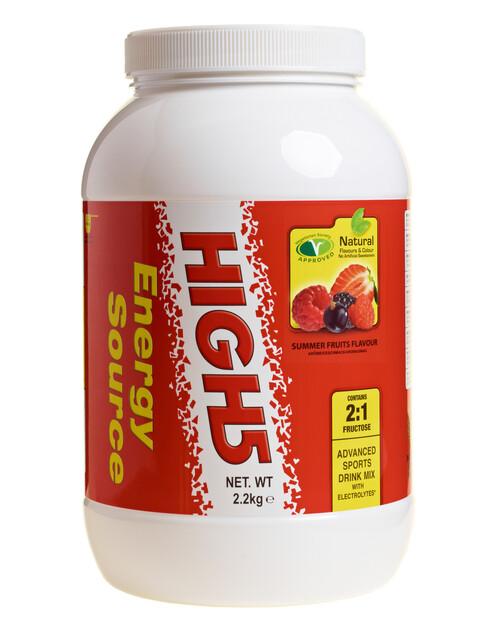 High5 EnergySource Drink - Nutrition sport - Summer Fruits 2,2kg